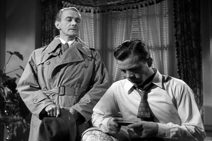 Clifton Webb, Dana Andrews in Laura