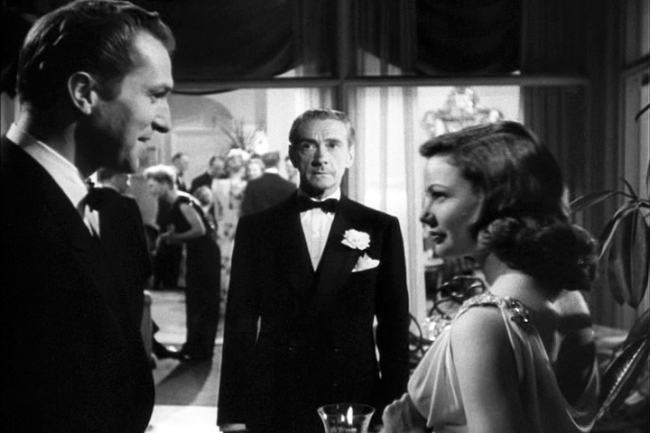 Vincent Price, Clifton Webb, Gene Tierney in Laura