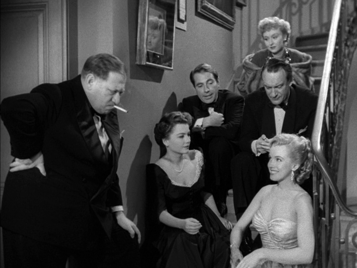 All About Eve party scene