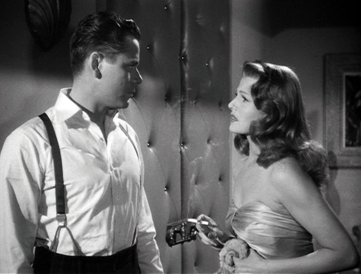 Glenn Ford and Rita Hayworth in Gilda
