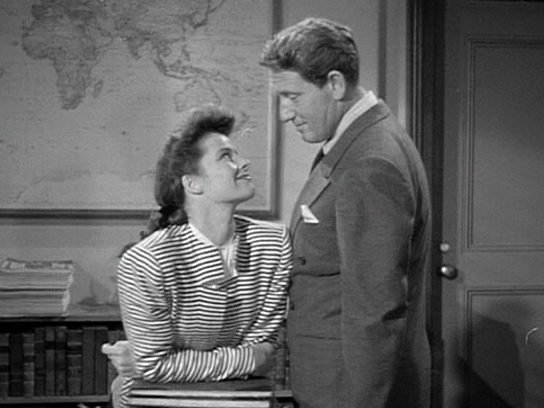 Katharine Hepburn Spencer Tracy star in Woman of the Year