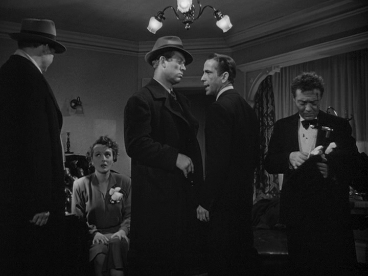 Mary Astor, Humphrey Bogart, Peter Lorre in The Maltese Falcon