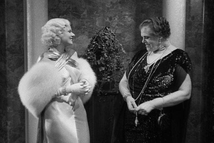 Jean Harlow, Marie Dressler Dinner at Eight