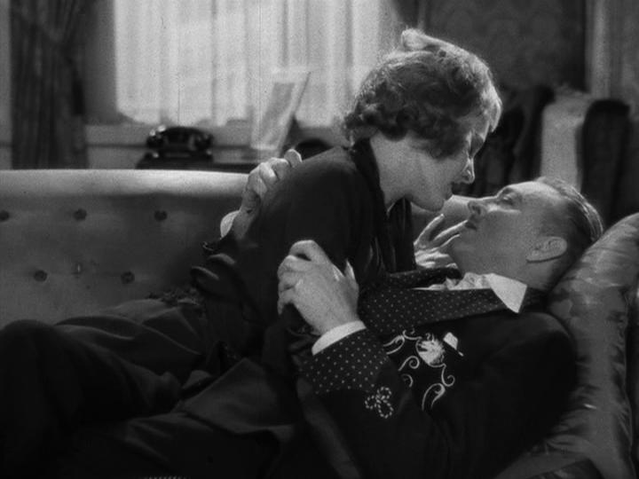 Madge Evans, John Barrymore Dinner at Eight