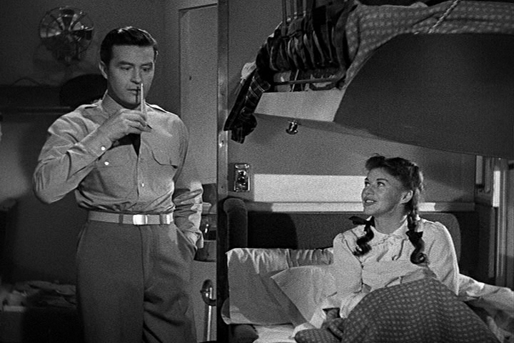 Ray Milland, Ginger Rogers, The Major and The Minor