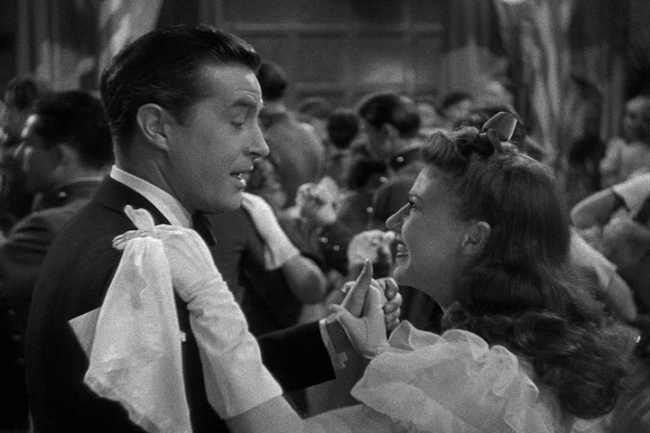 Ray Milland, Ginger Rogers in The Major and the Minor