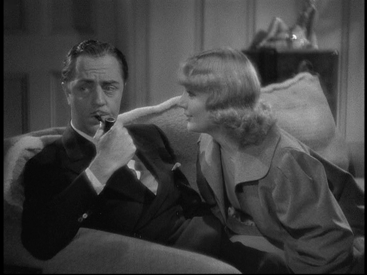 William Powell, Carole Lombard in My Man Godfrey