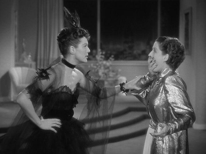 Rosalind Russell, Norma Shearer in The Women