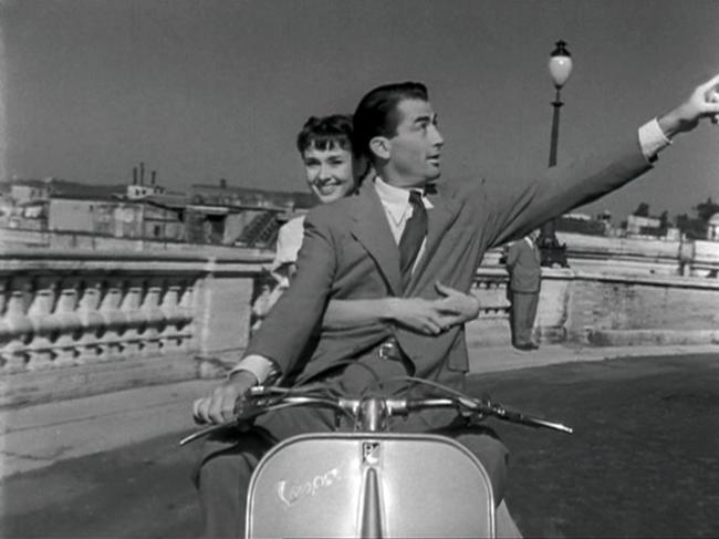 Audrey Hepburn Gregory Peck in Roman Holiday