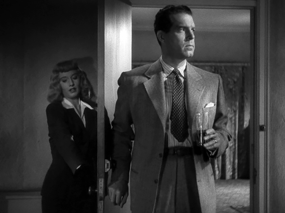 Barbara Stanwyck, Fred MacMurray in Double Indemnity