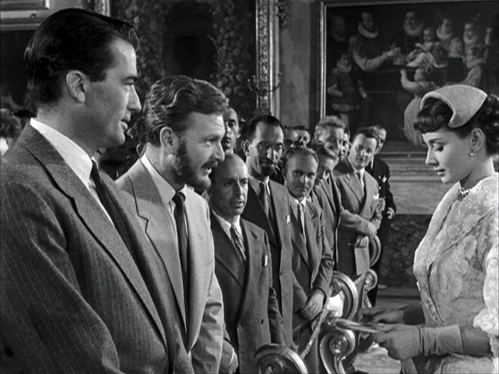 Gregory Peck, Eddie Albert, Audrey Hepburn