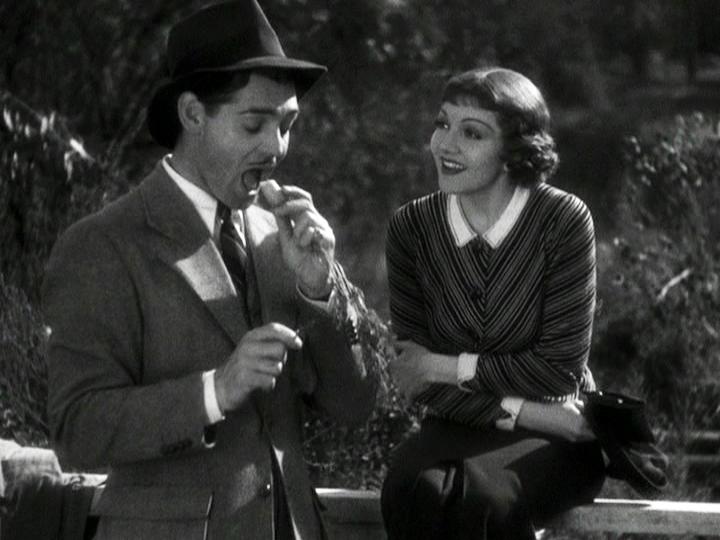 Clark Gable, Claudette Colbert in It Happened One Night