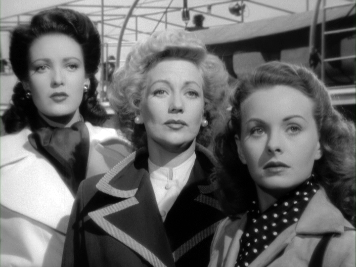 Linda Darnell, Ann Sothern, Jeanne Crain