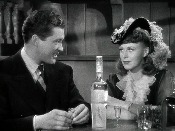 Dennis Morgan, Ginger Rogers in Kitty Foyle