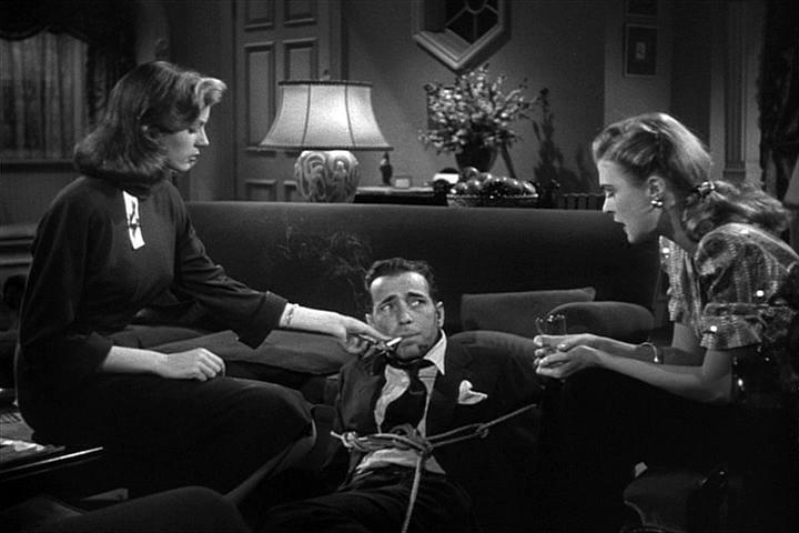 Lauren Bacall, Humphrey Bogart, Martha Vickers