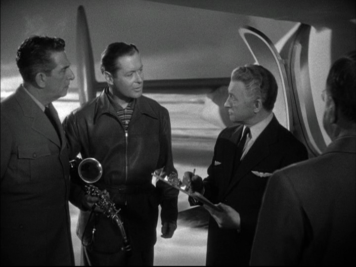 Edward Everett Horton, Robert Montgomery, Claude Rains in Here Comes Mr. Jordan.png
