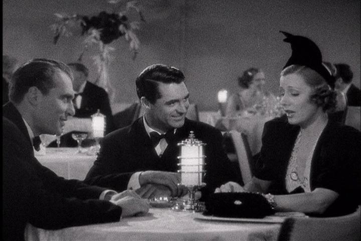 Ralph Bellamy, Cary Grant, Irene Dunne