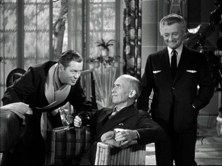 Robert Montgomery James Gleason Claude Rains in Here Comes Mr. Jordan.png