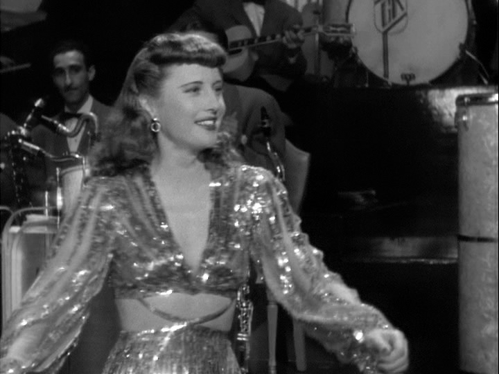 Barbara Stanwyck dances in Ball of Fire