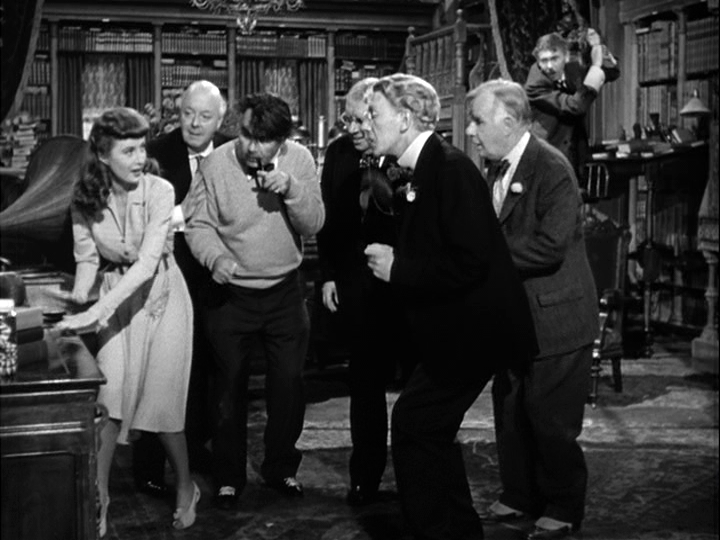 Barbara Stanwyck, Oskar Homolka in Ball of Fire