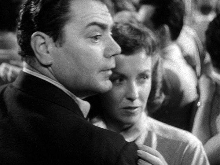 Ernest Borgnine, Betsy Blair in Marty