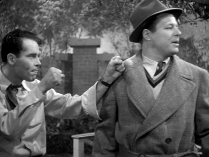 Henry Fonda, Jack Carson in The Male Animal