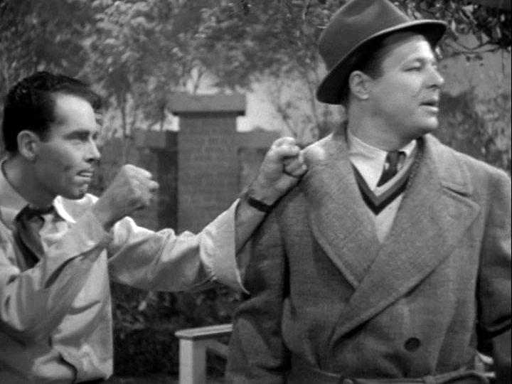Henry Fonda, Jack Carson in The Male Animal