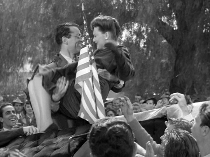 Henry Fonda, Olivia de Havilland in The Male Animal