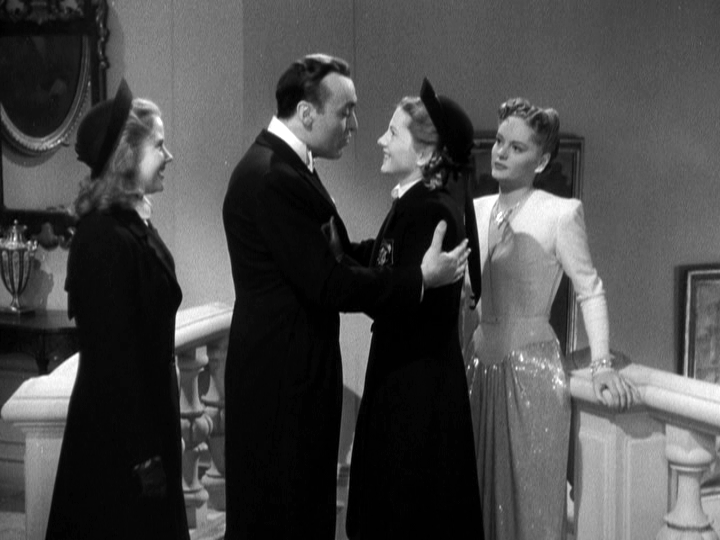 Charles Boyer, Joan Fontaine, Alexis Smith in The Constant Nymph