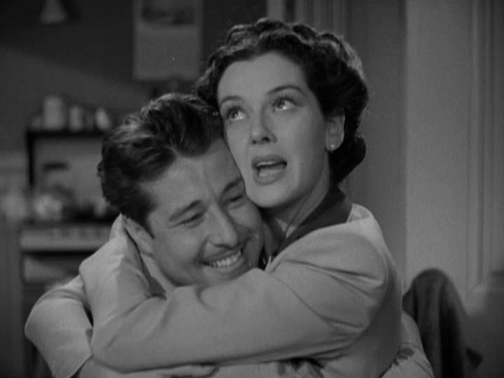 Don Ameche, Rosalind Russell in The Feminine Touch