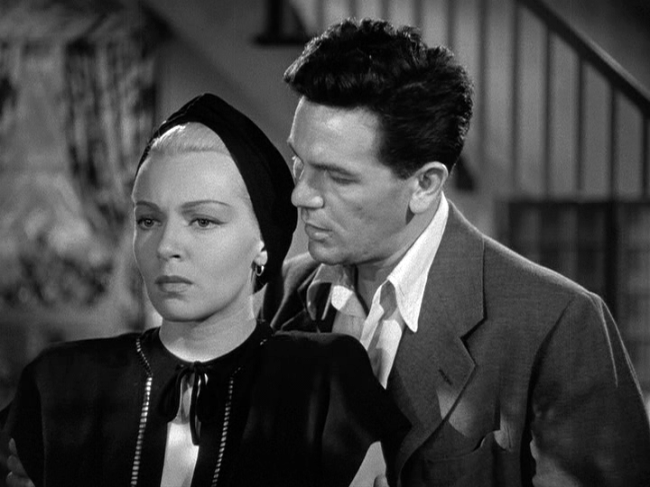Lana Turner, John Garfield in The Postman Always Rings Twice