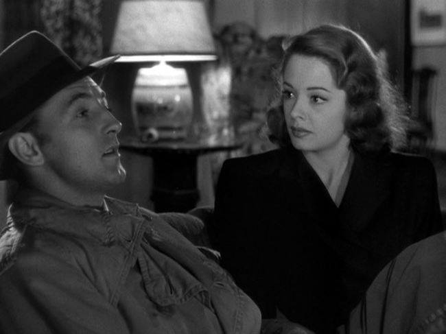 Robert Mitchum, Jane Greer in Out of the Past
