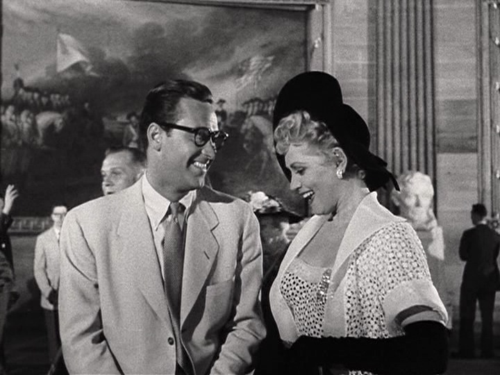 William Holden, Judy Holliday star in Born Yesterday