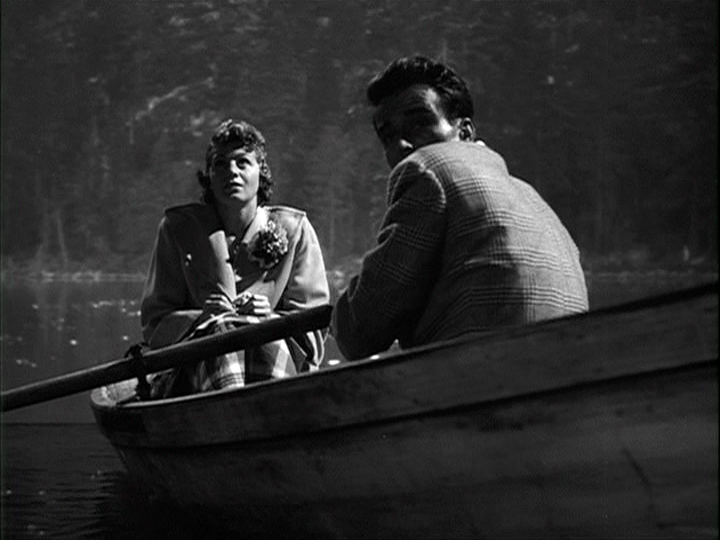 Shelley Winters, Montgomery Clift in A Place in the Sun