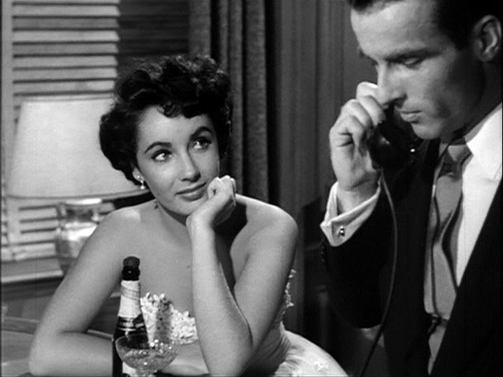 Elizabeth Taylor, Montgomery Clift in A Place in the Sun