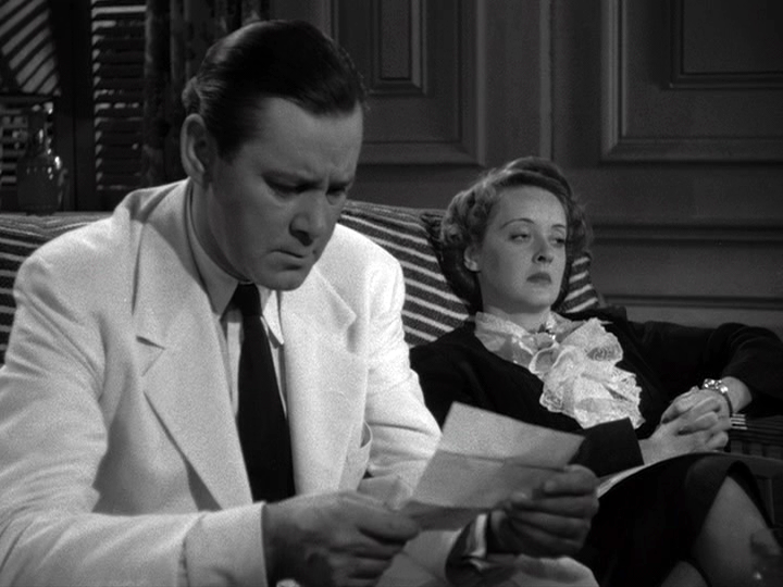 Herbert Marshall, Bette Davis in The Letter