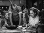 Barbara Bel Geddes, Philip Dorn, Irene Dunne in I Remember Mama
