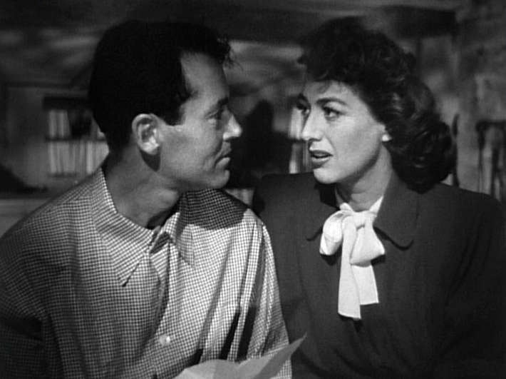 Henry Fonda, Joan Crawford in Daisy Kenyon