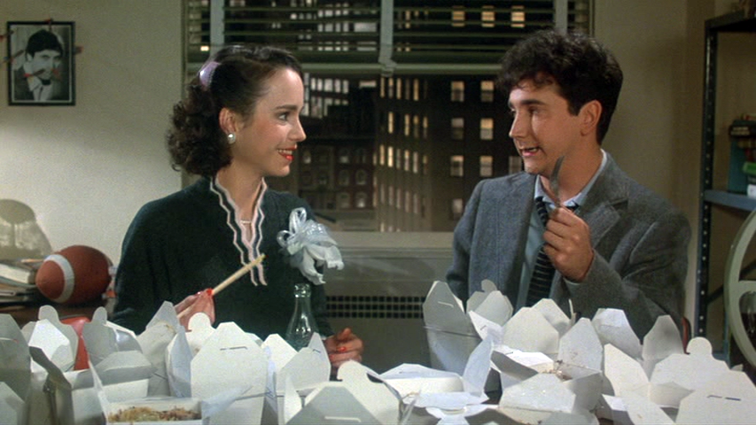 Jessica Harper, Mark Linn-Baker in My Favorite Year