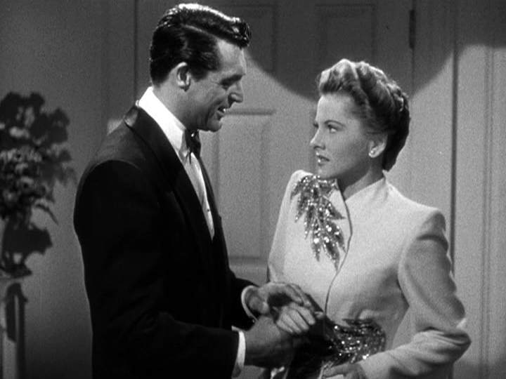 Cary Grant, Joan Fontaine star in Suspicion