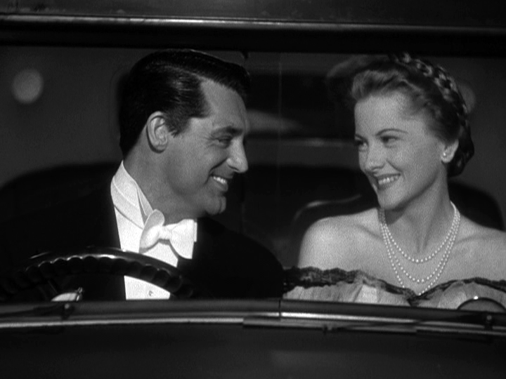 Cary Grant, Joan Fontaine together in Suspicion