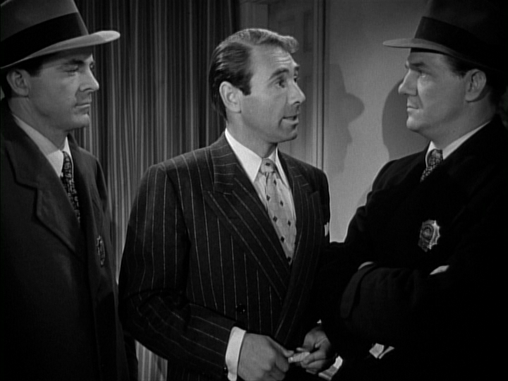 Dana Andrews, Gary Merrill, Karl Malden in Where the Sidewalk Ends