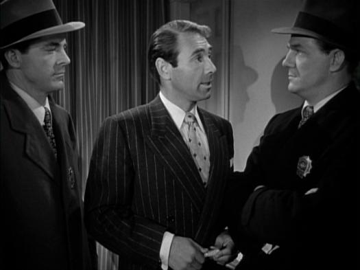 Dana Andrews, Gary Merrill, Karl Malden in Where the Sidewalk Ends