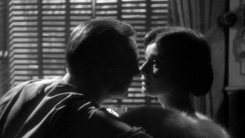 Gary Cooper, Audrey Hepburn in Love in the Afternoon