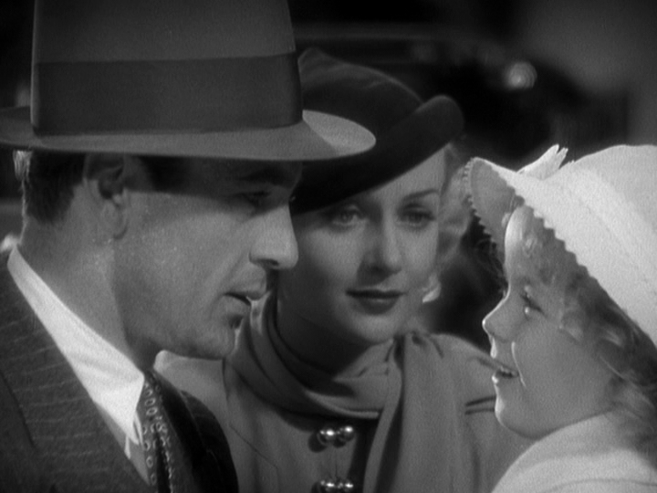 Gary Cooper, Carole Lombard, Shirley Temple in Now and Forever