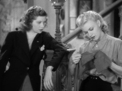 Lucille Ball, Ginger Rogers in Stage Door