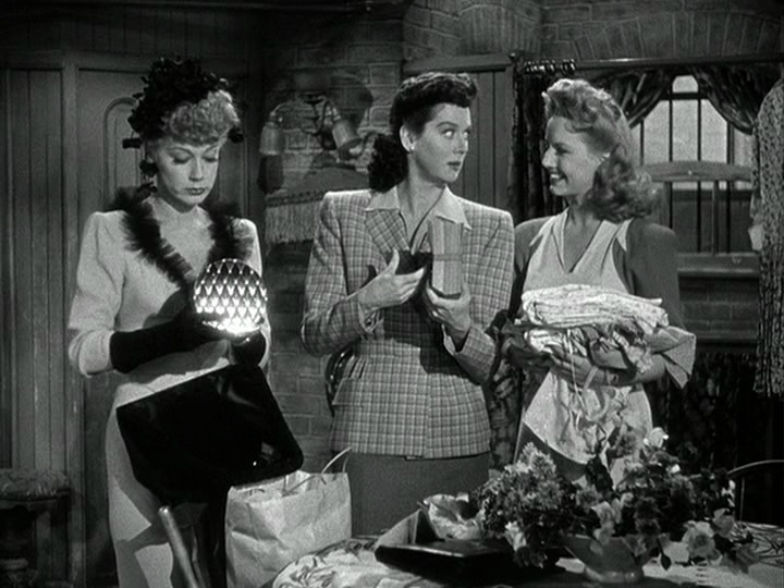 June Havoc, Rosalind Russell, Janet Blair in My Sister Eileen