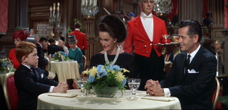 Ronny Howard, Dina Merrill, Glenn Ford in The Courtship of Eddie's Father