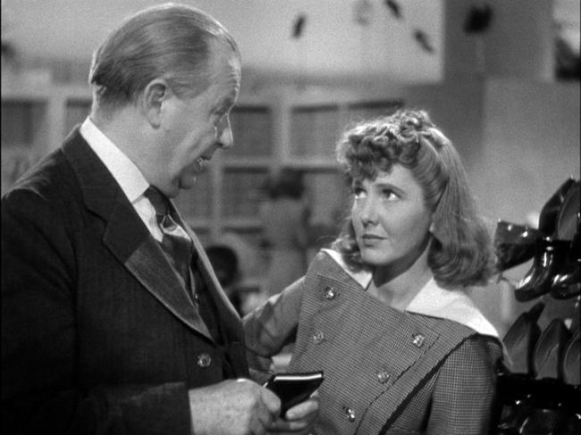 Charles Coburn, Jean Arthur star in The Devil and Miss Jones