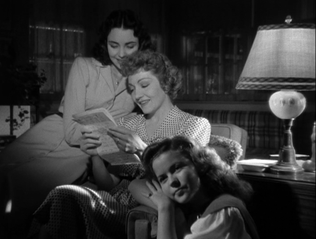Jennifer Jones, Claudette Colbert, Shirley Temple in Since You Went Away